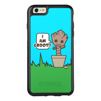 Kawaii Potted Groot OtterBox iPhone 6/6s Plus Case