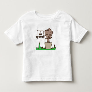 Kawaii Potted Groot Toddler T-shirt