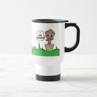 Kawaii Potted Groot Travel Mug