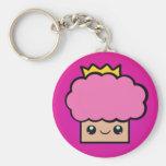 Kawaii Princess Cupcake Keychains