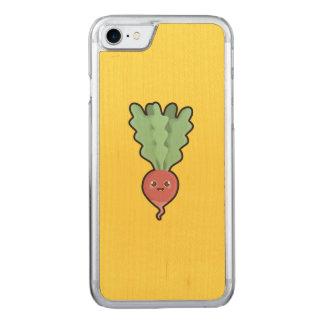 Kawaii Radish Carved iPhone 7 Case