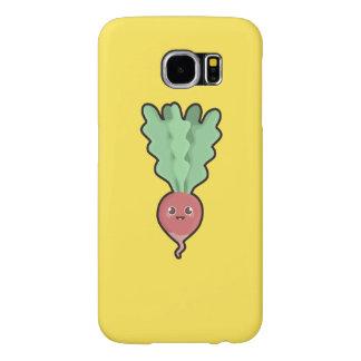 Kawaii Radish Samsung Galaxy S6 Cases
