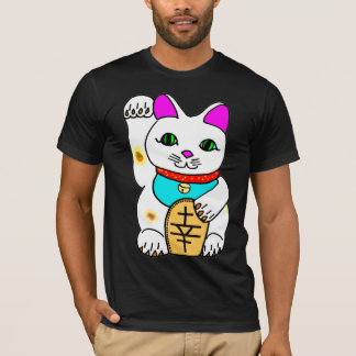 Kawaii Rave Lucky Cat Maneki Neko T-Shirt