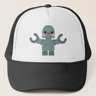 Kawaii Rave Robot Trucker Hat