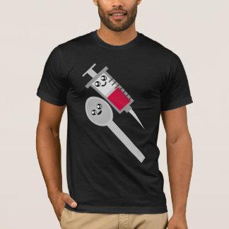 Kawaii Rave Syringe Needle Shot & Spoon T-Shirt