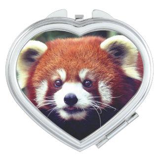Kawaii Red Panda Vanity Mirror