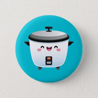 Kawaii Rice Cooker 2 Inch Round Button