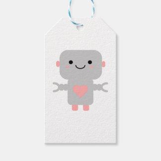 Kawaii Robot Cartoon Gift Tags
