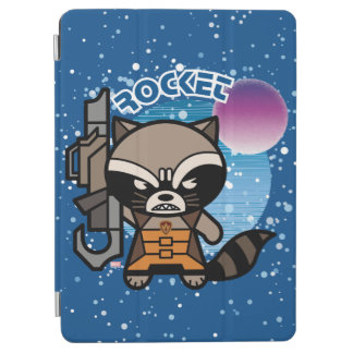 Kawaii Rocket Raccoon In Space