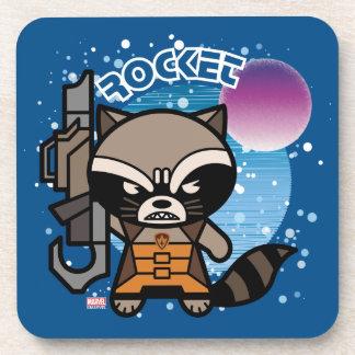 Kawaii Rocket Raccoon In Space Coaster