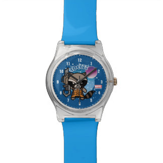 Kawaii Rocket Raccoon In Space Watch