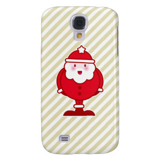Kawaii Santa Samsung Galaxy S4 Cases