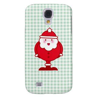 Kawaii Santa Galaxy S4 Cases