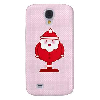 Kawaii Santa Galaxy S4 Covers