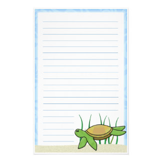 Kawaii Sea Turtle Stationery