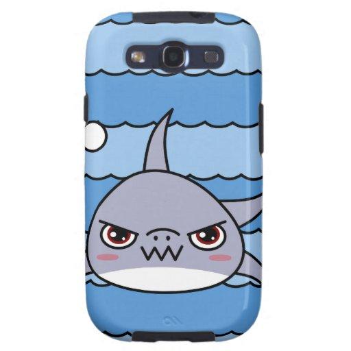 Kawaii Shark Galaxy S3 Cases