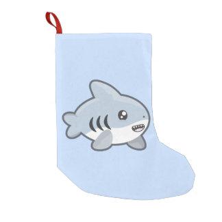 Kawaii Shark Small Christmas Stocking