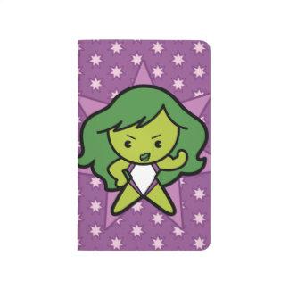 Kawaii She-Hulk Flex Journal