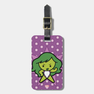 Kawaii She-Hulk Flex Luggage Tag