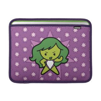 Kawaii She-Hulk Flex MacBook Sleeve