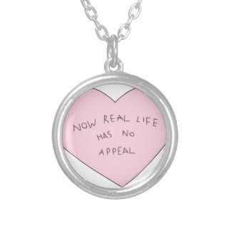 kawaii silver plated necklace