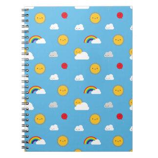 Kawaii Skies Notebooks