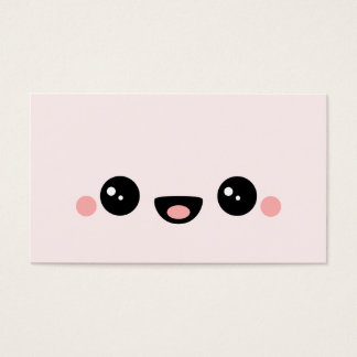 Kawaii Smiley Business Card