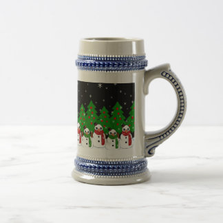Kawaii Snowman Beer Stein