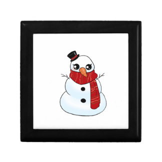Kawaii Snowman Gift Box