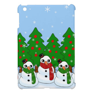 Kawaii Snowman iPad Mini Case