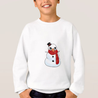 Kawaii Snowman Sweatshirt