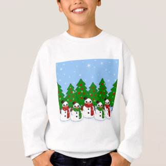 Kawaii Snowman Sweatshirt