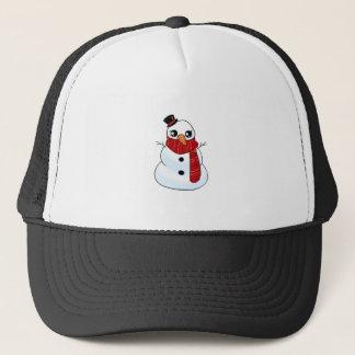Kawaii Snowman Trucker Hat