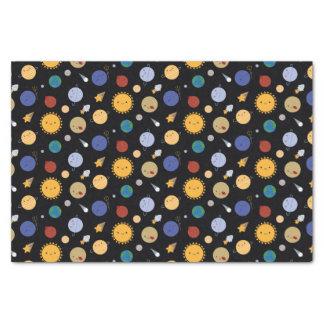 Kawaii Solar System Tissue Paper