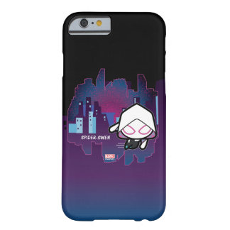 Kawaii Spider-Gwen City Skyline Barely There iPhone 6 Case