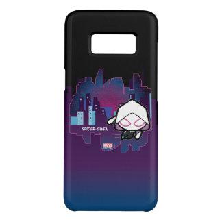 Kawaii Spider-Gwen City Skyline Case-Mate Samsung Galaxy S8 Case