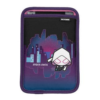 Kawaii Spider-Gwen City Skyline iPad Mini Sleeve