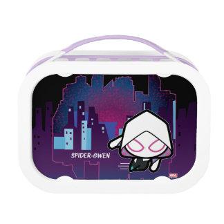 Kawaii Spider-Gwen City Skyline Lunch Box