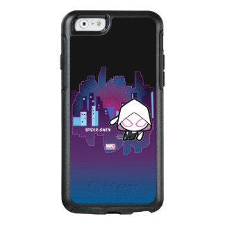 Kawaii Spider-Gwen City Skyline OtterBox iPhone 6/6s Case