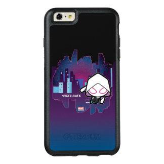 Kawaii Spider-Gwen City Skyline OtterBox iPhone 6/6s Plus Case