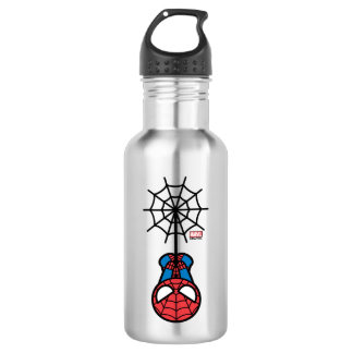 Kawaii Spider-Man Hanging Upside Down 532 Ml Water Bottle