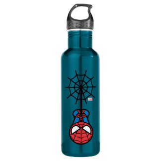 Kawaii Spider-Man Hanging Upside Down 710 Ml Water Bottle