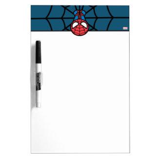 Kawaii Spider-Man Hanging Upside Down Dry Erase Board