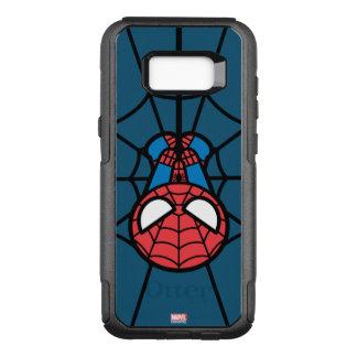 Kawaii Spider-Man Hanging Upside Down OtterBox Commuter Samsung Galaxy S8+ Case