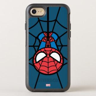 Kawaii Spider-Man Hanging Upside Down OtterBox Symmetry iPhone 8/7 Case