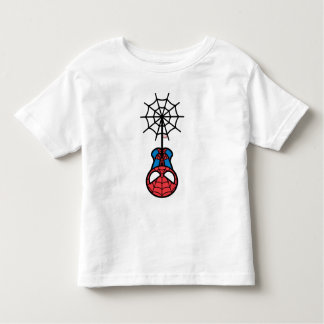 Kawaii Spider-Man Hanging Upside Down Toddler T-shirt