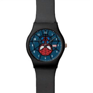 Kawaii Spider-Man Hanging Upside Down Watch