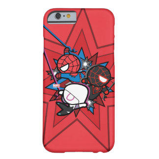Kawaii Spider-Man, Spider-Gwen, & Miles Morales Barely There iPhone 6 Case
