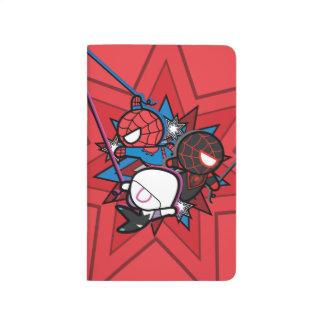 Kawaii Spider-Man, Spider-Gwen, & Miles Morales Journal
