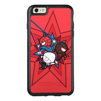 Kawaii Spider-Man, Spider-Gwen, & Miles Morales OtterBox iPhone 6/6s Plus Case